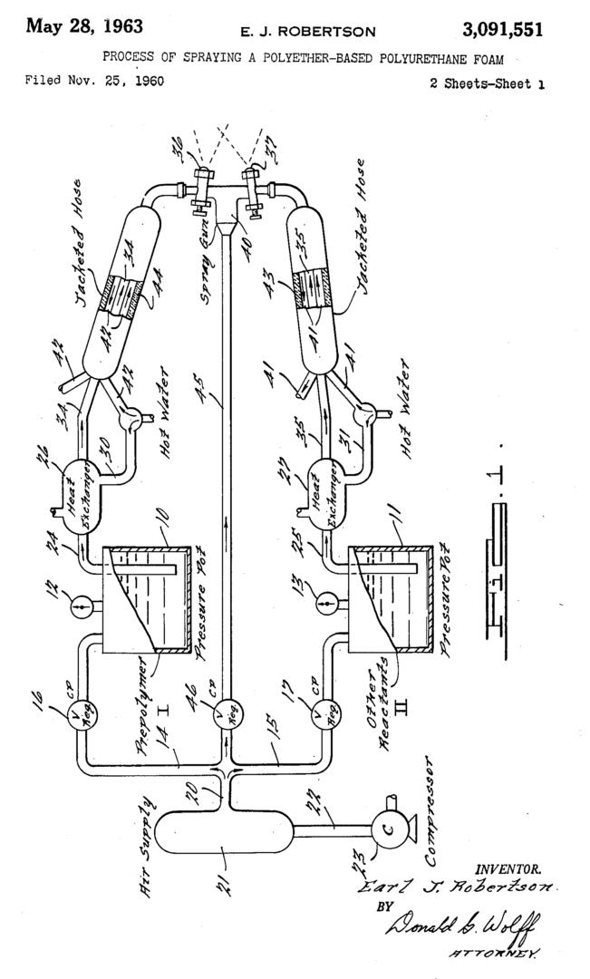 Wyandotte Chemicals Corporation patent