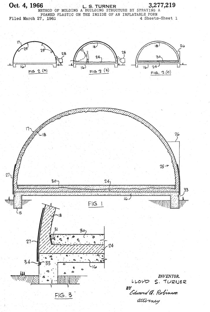 Lloyd S. Turner patent