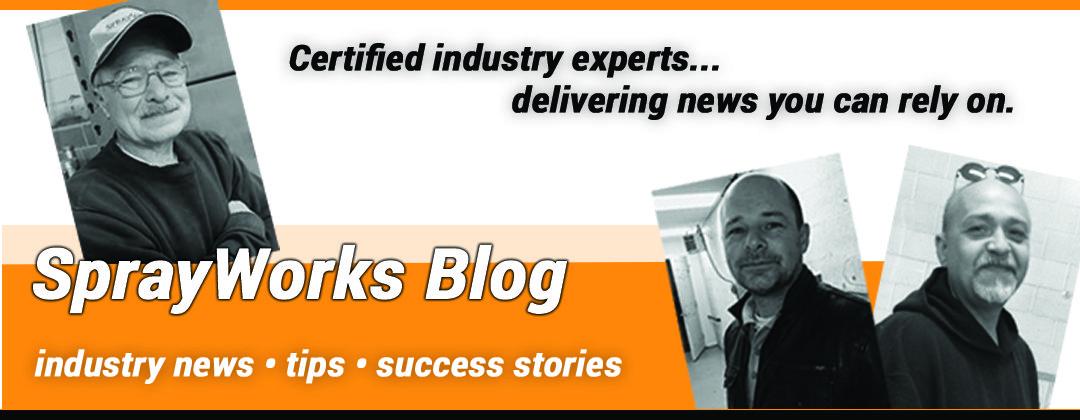 Sprayworks Blog banner