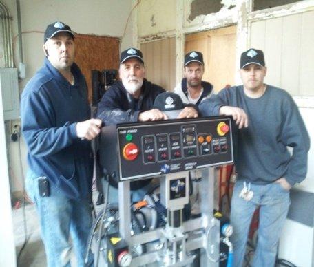 The Waverly Crew with PMC PH-20 Foam Machine