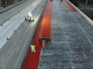coating a bridge